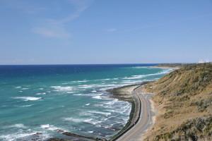 Nikon Digital Camera D700 初春の海岸線