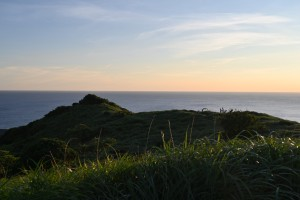 Nikon Digital Camera  黄昏の岬